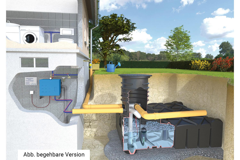 Hišni komplet z McRain črpališčem v hiši