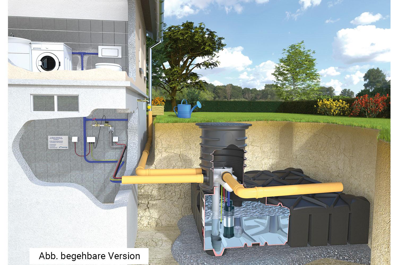 Hišni komplet s potopno črpalko DIVER Evo